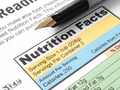 جدول السعرات الحرارية لانقاص الوزن لأغلب الاطعمة 61 مادة غذائية