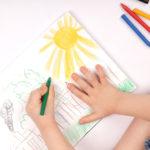 كيفية تعليم الاطفال الرسم