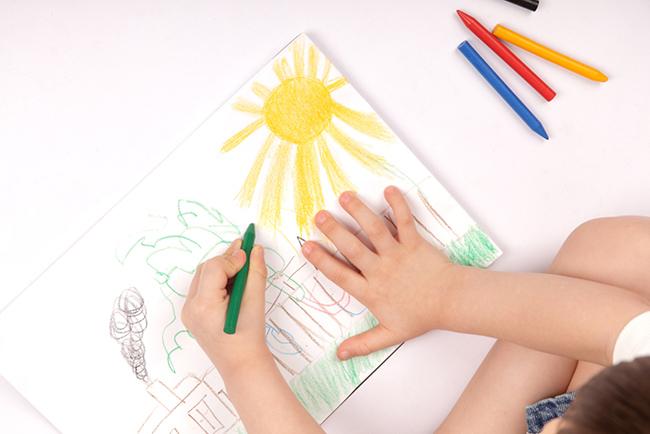 تعليم الاطفال الرسم خطوة خطوة