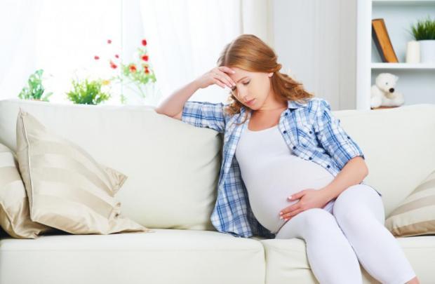 اكتئاب الحمل في الشهور الاولى