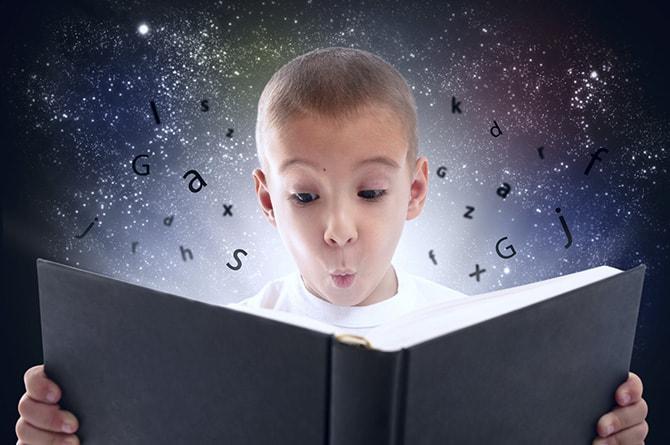 تعليم القراءة للاطفال من سن