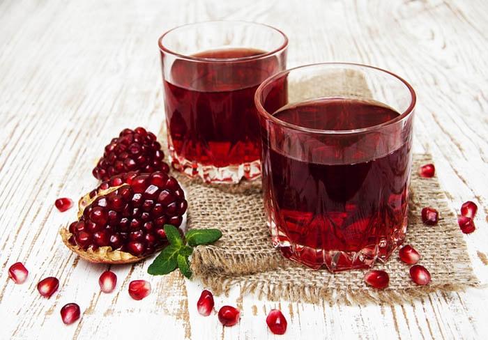 عصير الرمان وفوائده