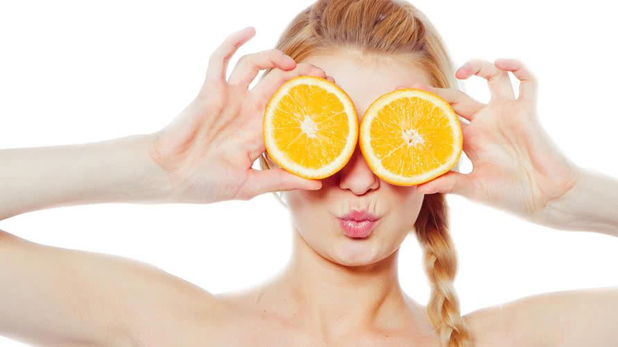 مجموعة فوائد البرتقال للبشره