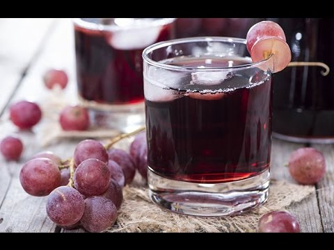 فوائد عصير العنب الصحية