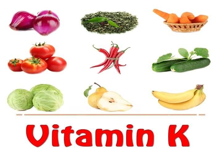 مصادر فيتامين ك في 15 نوع طعام