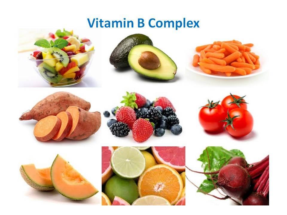 اين يوجد فيتامين ب لائحة الأطعمة التي تحتويه