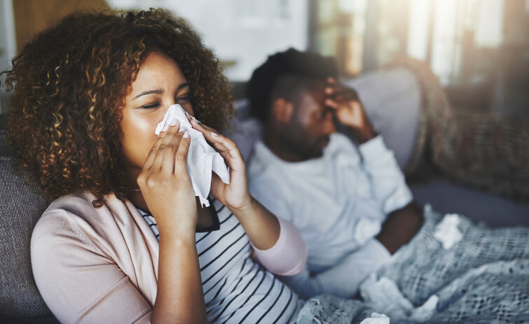 علاج الزكام والحلق