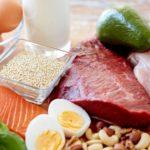 كمية البروتين في الاطعمة (لائحة)