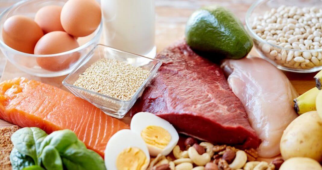 كمية البروتين في الاطعمة