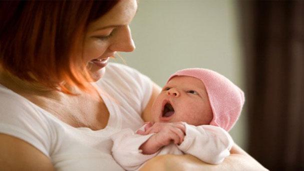 التعامل مع المولود حديث الولادة