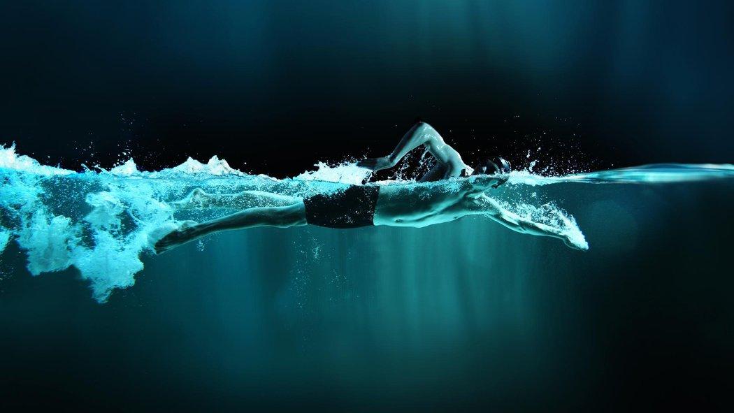 تعليم السباحة الحرة