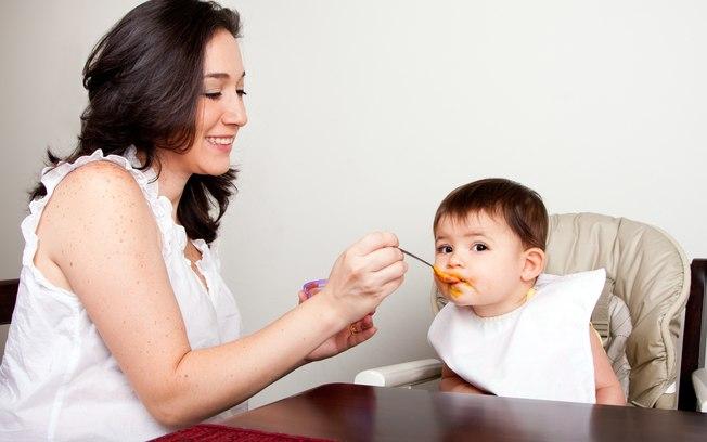 غذاء الطفل في الشهر الثامن