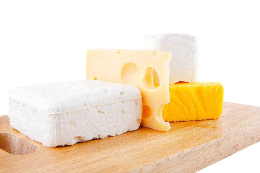 انواع الجبن المطبوخ