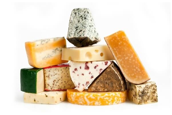 انواع الجبن