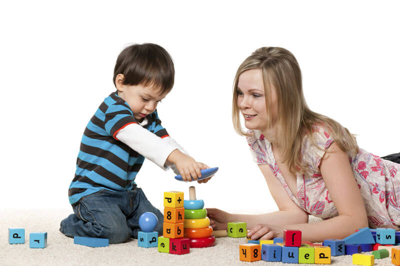تعليم الاطفال الالوان والاشكال
