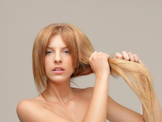 علاج الشعر المحروق من الصبغة