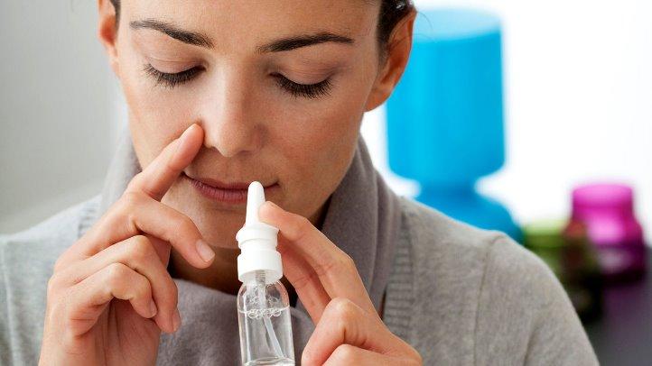 علاج حساسية الانف والعين